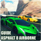 Guide ;Asphalt 8 airborne icon