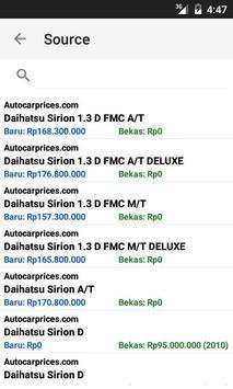 Harga Mobil apk screenshot
