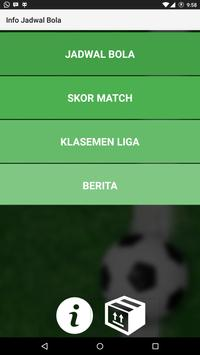 Info jadwal bola apk download free sports app for android info jadwal bola poster stopboris Images