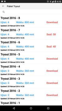 Tryout UN UNBK SMP 2017 apk screenshot