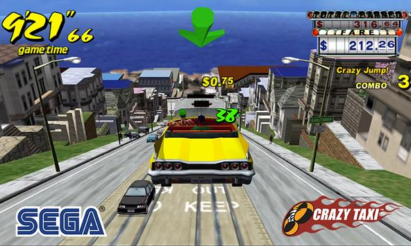 Crazy Taxi Classic poster