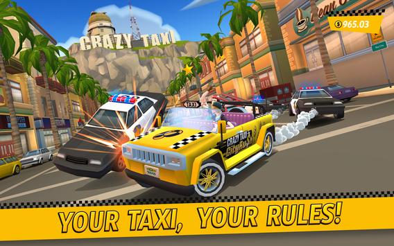 Crazy Taxi™ City Rush Poster