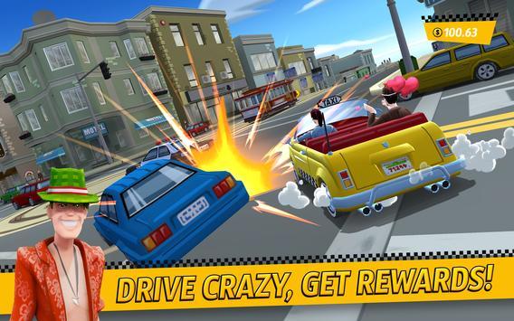 Crazy Taxi City Rush تصوير الشاشة 2