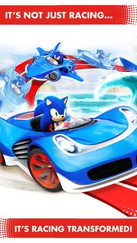 Sonic Racing Transformed Poster
