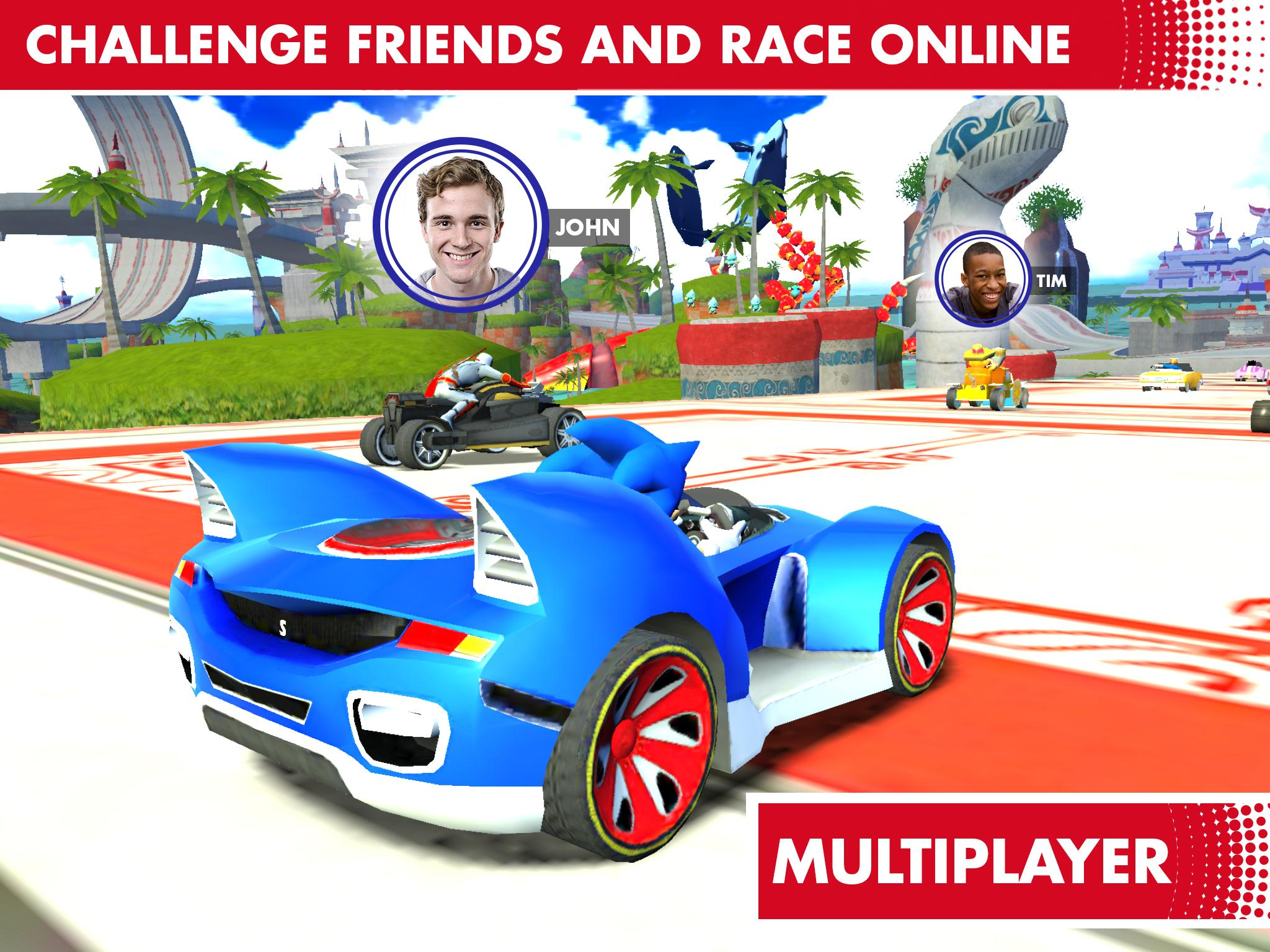 Sonic Racing Transformed for Android - APK Download