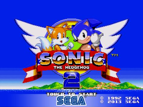 Poster Sonic The Hedgehog 2 Classic