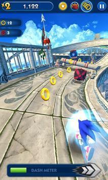 Sonic Dash الملصق