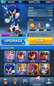 Sonic Forces captura de pantalla de la apk