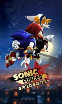 Sonic Forces: Speed Battle poster