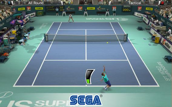 Virtua Tennis Challenge apk screenshot
