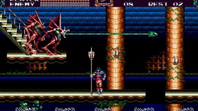 Castlevania Bloodlines sega included cheats screenshot 3