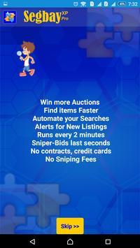 SegbayXPpro - bid sniper ebay poster