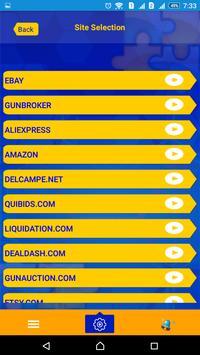 SegbayXPpro - bid sniper ebay apk screenshot