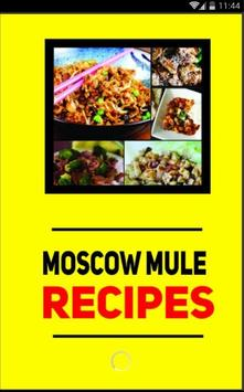 Recipe Moscow Mule 30+ poster