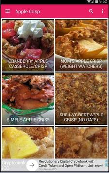Recipe Apple Crisp 30+ screenshot 1