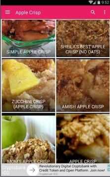 Recipe Apple Crisp 30+ apk screenshot