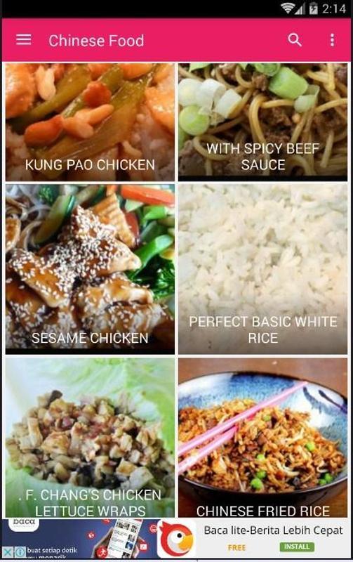 Chinese food recipe 30 descarga apk gratis libros y obras de chinese food recipe 30 captura de pantalla de la apk forumfinder Images