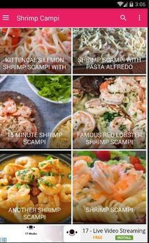 Recipe Shrimp Scampi 30+ apk screenshot