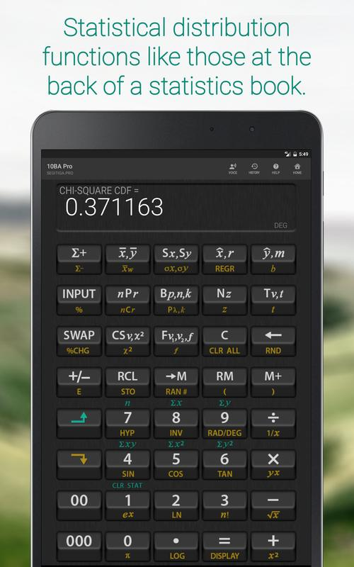 Ba Professional Financial Calculator For Android  Apk Download