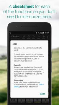 10BA Professional Financial Calculator Ekran Görüntüsü 2