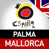 Playa de Palma y Mallorca. icon