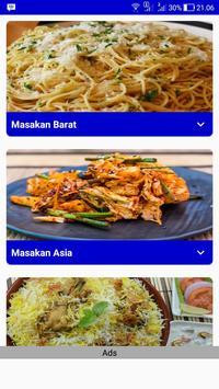 Resep Masakan Luar Negeri poster
