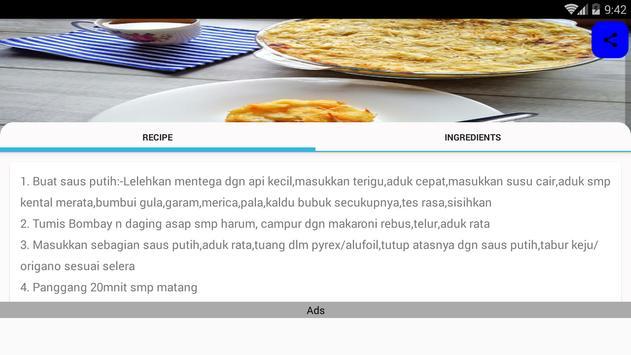 Resep Masakan Luar Negeri screenshot 9