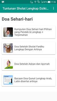 Tuntunan Sholat Lengkap Dzikir dan Doa screenshot 3