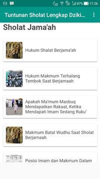 Tuntunan Sholat Lengkap Dzikir dan Doa screenshot 4