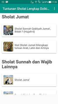 Tuntunan Sholat Lengkap Dzikir dan Doa screenshot 5