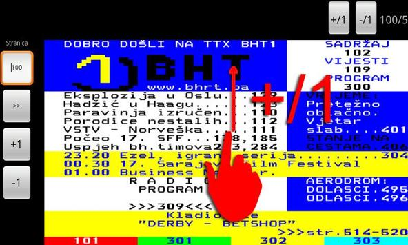 BHT1 Teletekst screenshot 4