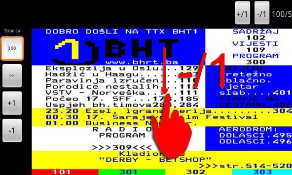 BHT1 Teletekst screenshot 5