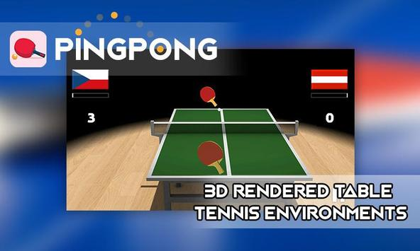 Table Tennis 3D 2016 poster