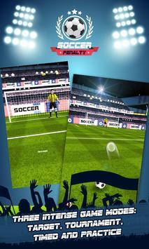 Soccer Kicks Penalty poster