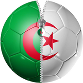Zipper Lock Algeria Flag icon