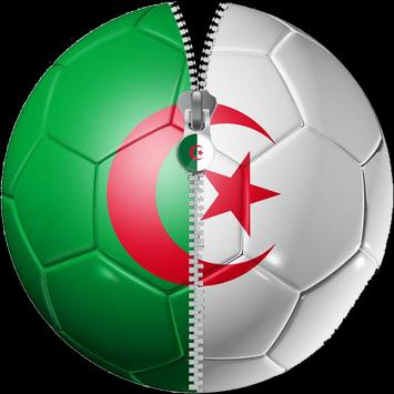 Zipper Lock Algeria Flag screenshot 4