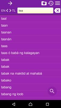 English Tagalog Dictionary Fr apk screenshot