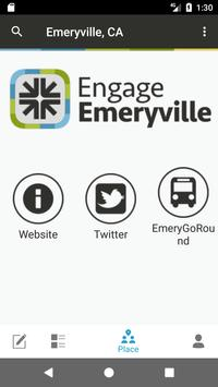 Engage Emeryville poster