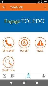 Engage Toledo poster