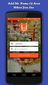 Seecraze - Online Shopping App poster
