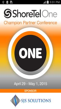ShoreTel Partner Conference poster
