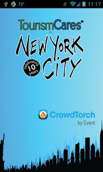 Tourism Cares for NYC poster