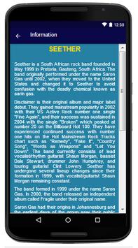 Seether - Song and Lyrics apk screenshot