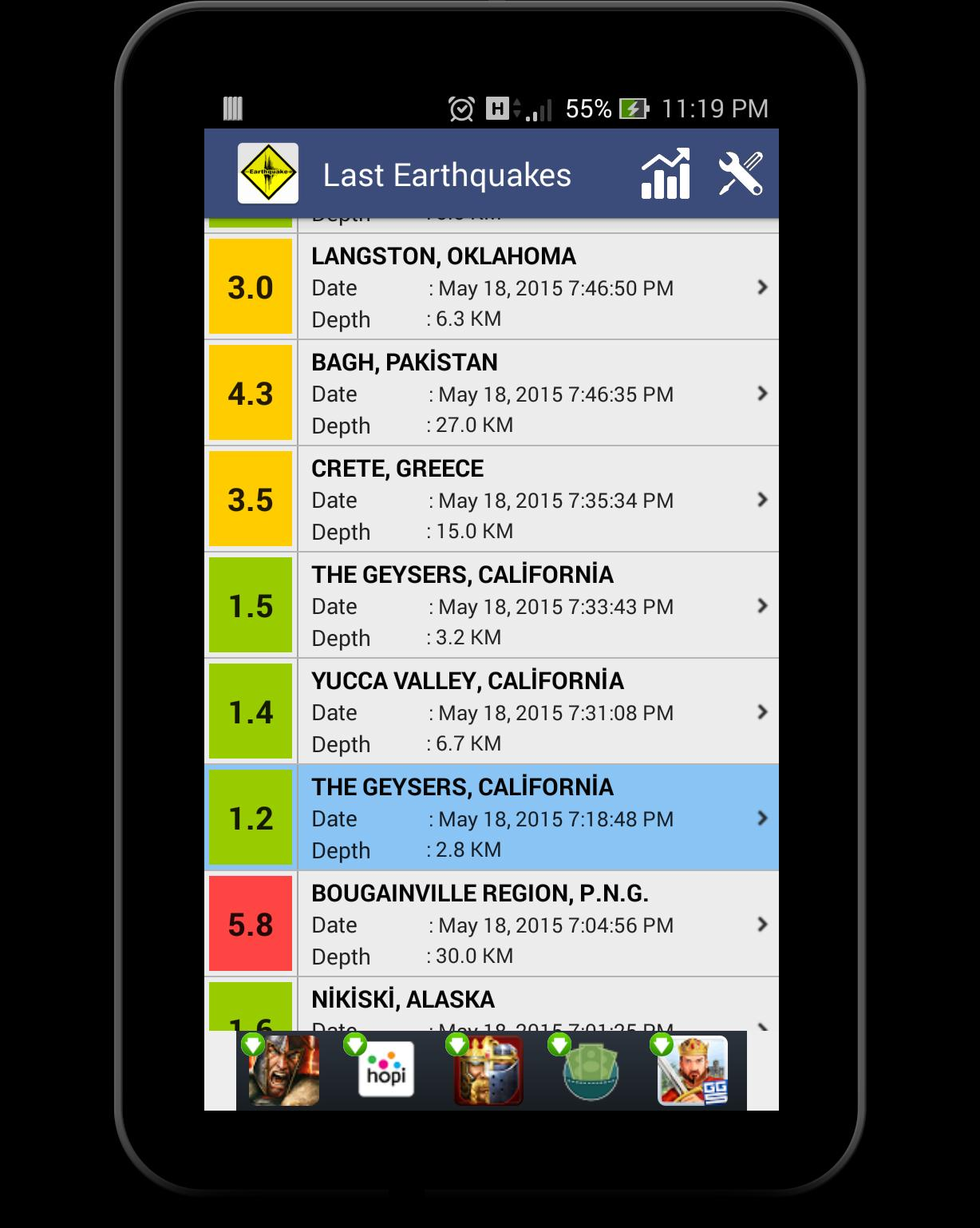 Earthquake Alert & News App - Tracker on Map Free for Android - APK