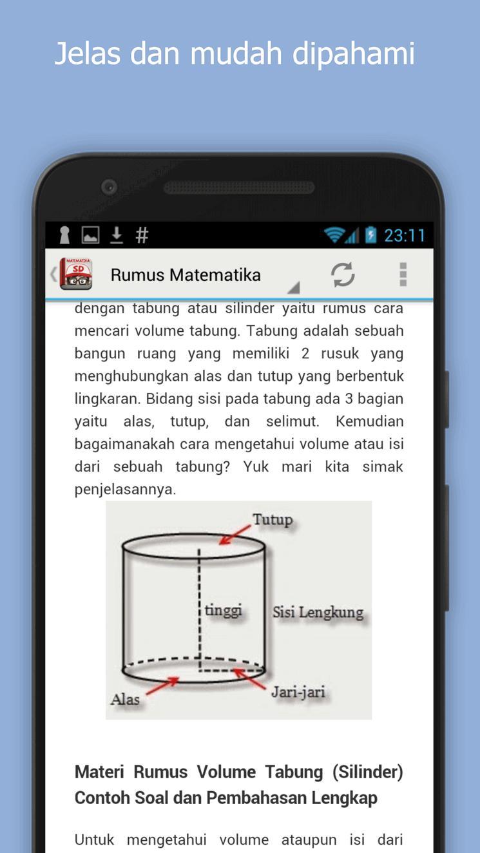 Rumus Matematika Sd For Android Apk Download