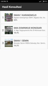 Pemilihan SMA Gunungkidul screenshot 7