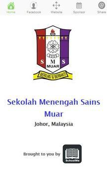 SM Sains Muar poster