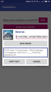 InstaDown - Insta Downloader Save Videos and Image apk screenshot