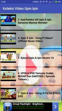 Koleksi Video Upin&Ipin Terbaru screenshot 1