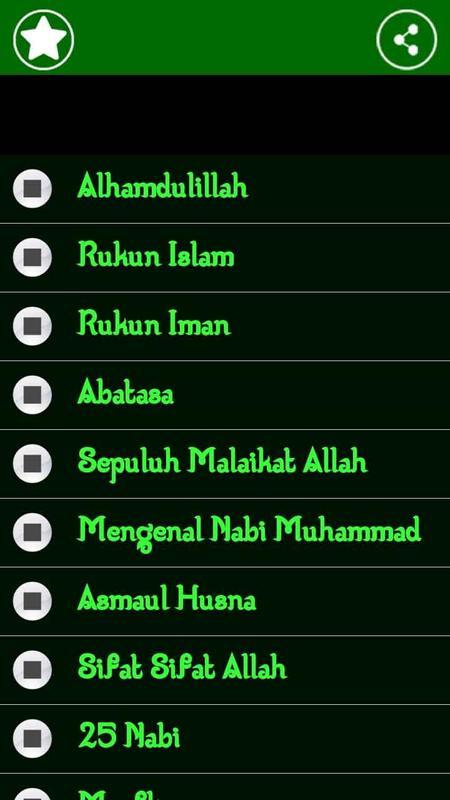 lagu anak islami apk download   free music amp audio app for